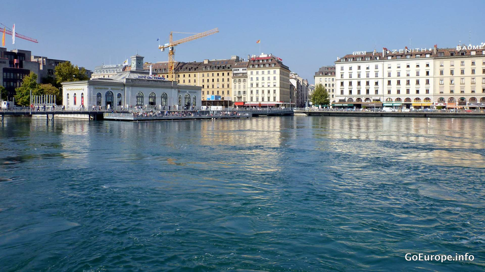 In Geneva you will find a lot of water around.