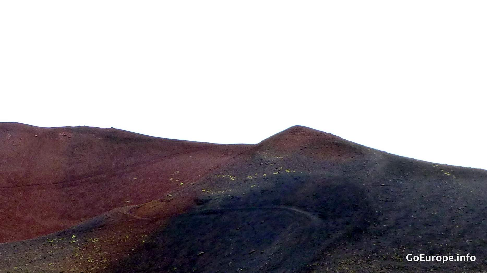 Top of the volcano.